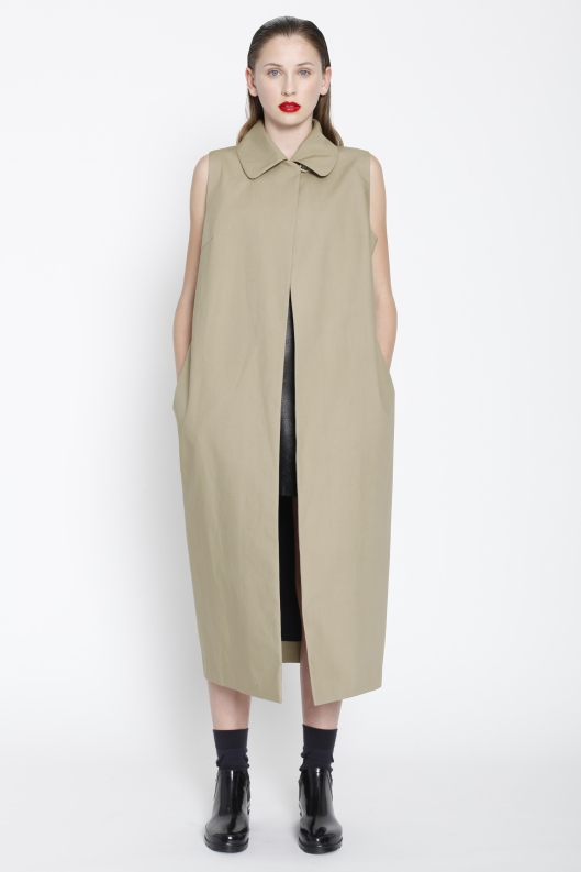 Zambesi, sleeveless coat,