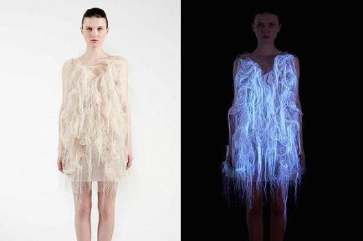 wearable technology, dress by Ying Gao