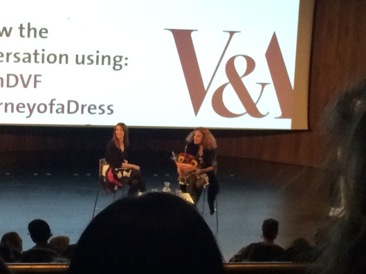 V and A event, DVF