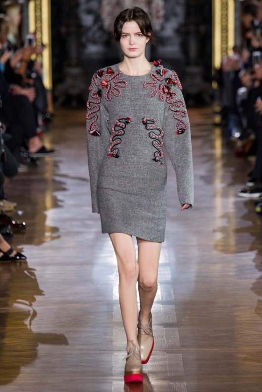 sweater dress, mini with embellsihments by Stella McCartney