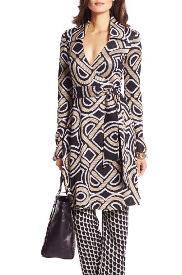 wrap dress, trousers, dvf,dvf.com  canvas