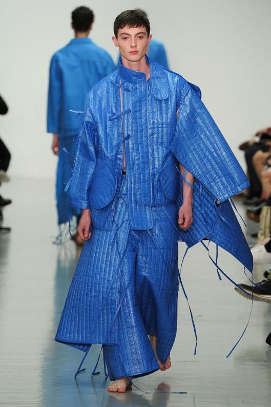 craig green, s15, blue, structured, layered, armour-esque