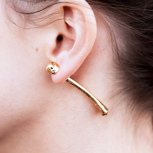 jewellery, ear rings, KFC bone, designer Meg Carroll