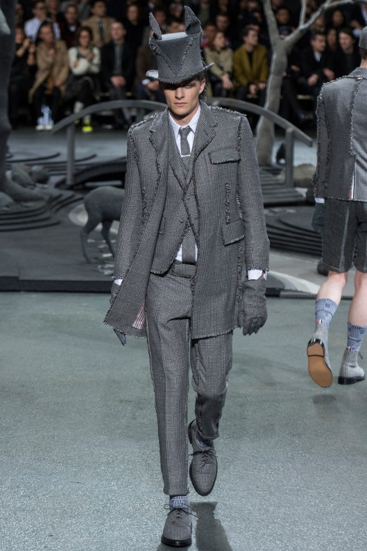 groutfit, men, thom browne, a 14, suit