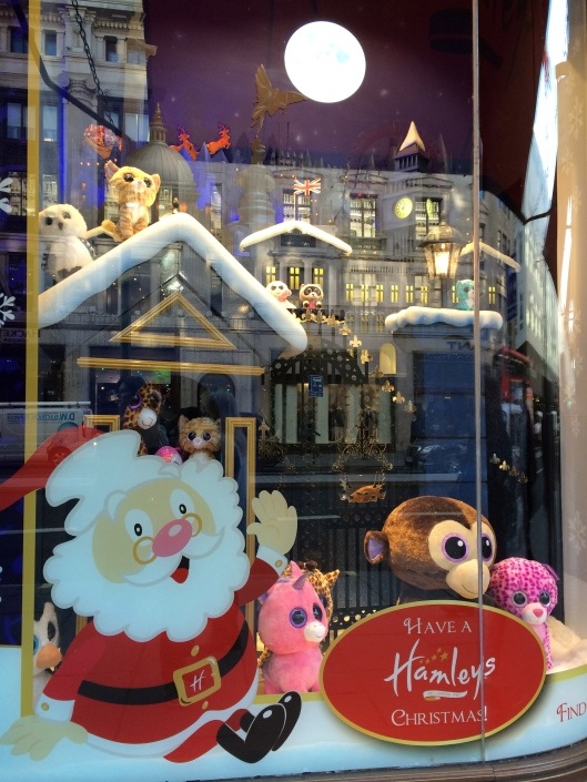 London town, Hamleys toy store, hols 2014