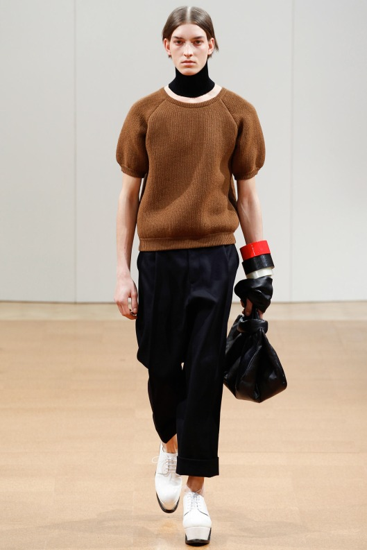 jw anderson, aw 14, jumper, puff sleeve