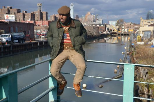 L.L. Bean, Ducks in the city, guy on fence
