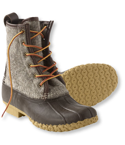 A fashion fairytale: the L.L. Bean 'Duck' boot becomes the