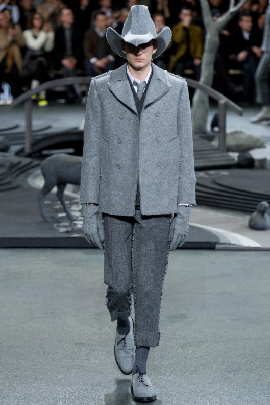 men in hats, a 14, thom browne, ten gallon