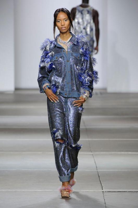 spring 2015, denim, distress, top/ trousers, ashish