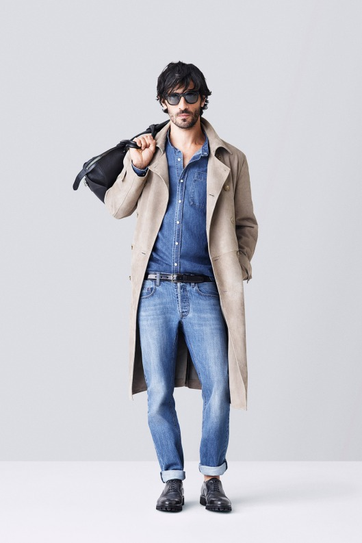 spring 2015, denim, men, bally, denim on denim,