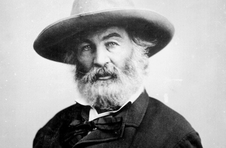 walt whitman, portrait