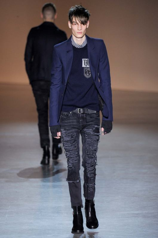 fall 2015, men diesel black