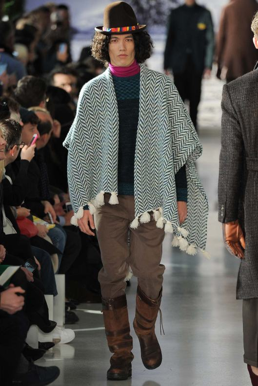 fall 2015, men, richard james. poncho