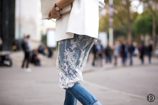 favlook - lookfav focus:  sheer lace ovver jeans