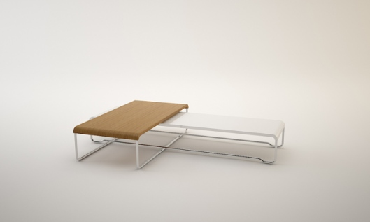 florent degourc, verone, 2 connected tables