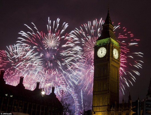 happy new year, london, 2015, big ben