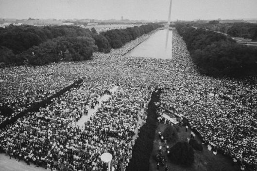 I have a Dream speech, crowd, image