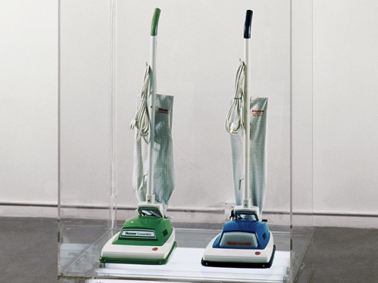 jeff koons, hoover cleaners