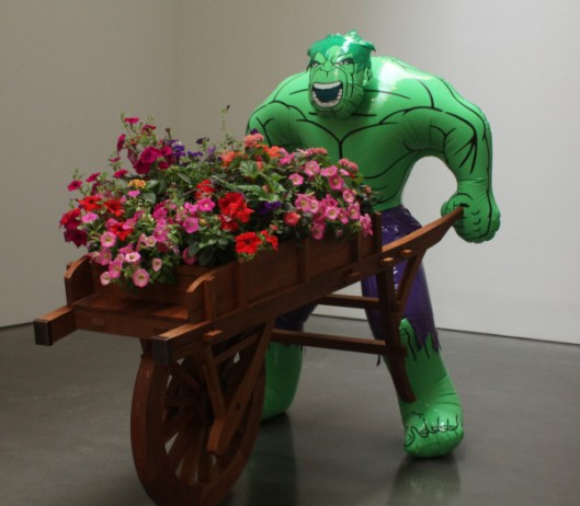 jeff koons, the hulk