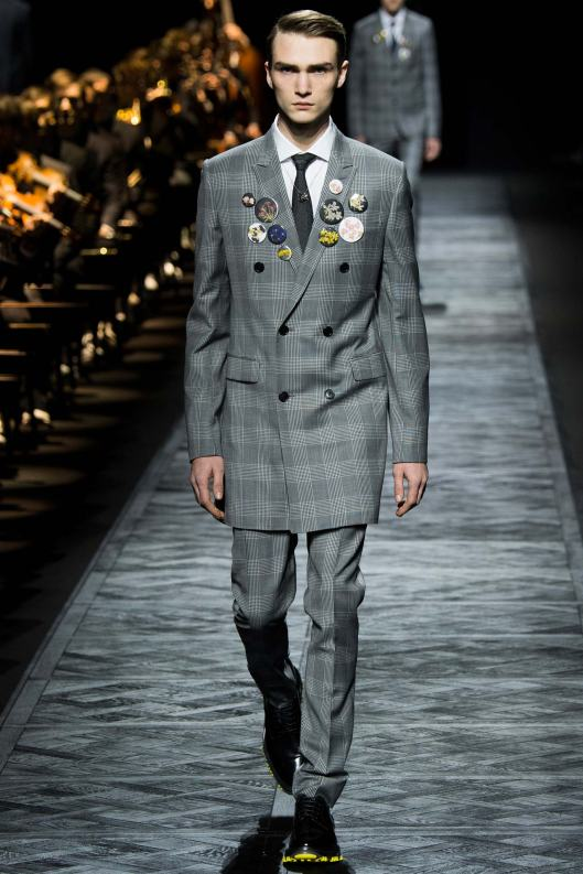 paris, men, dior homme, fall 2015, suit, thigh length jacket