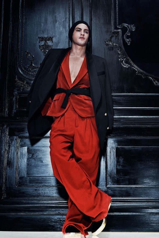 paris, men, fall 2015,Balmain_02_1366