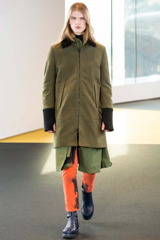 paris, men, kenzo, fall 2015, outerwear