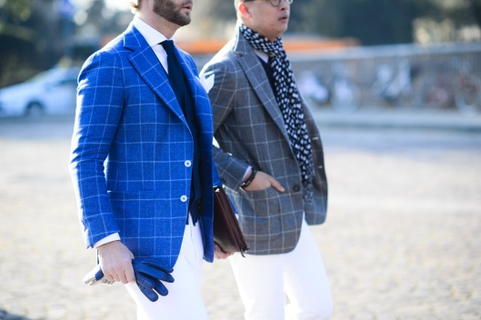 pitti uomo, fall 2015, window jacket pairing