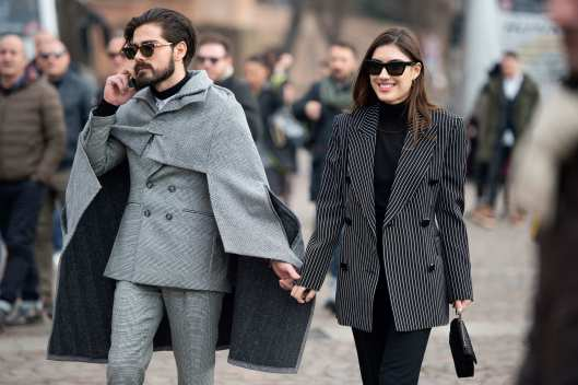 pitti uomo, fall 2015, cape affect