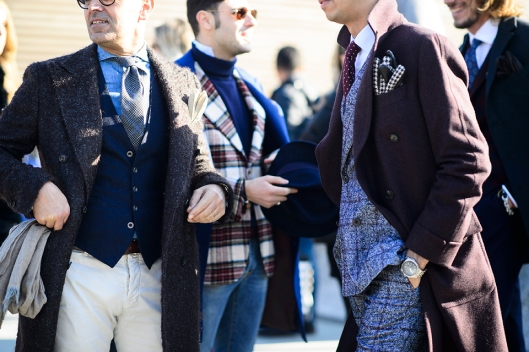 pitti uomo , fall 2015, group shoot