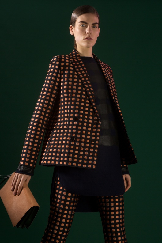 prefall 2015, cedric charlier, trouser suiting