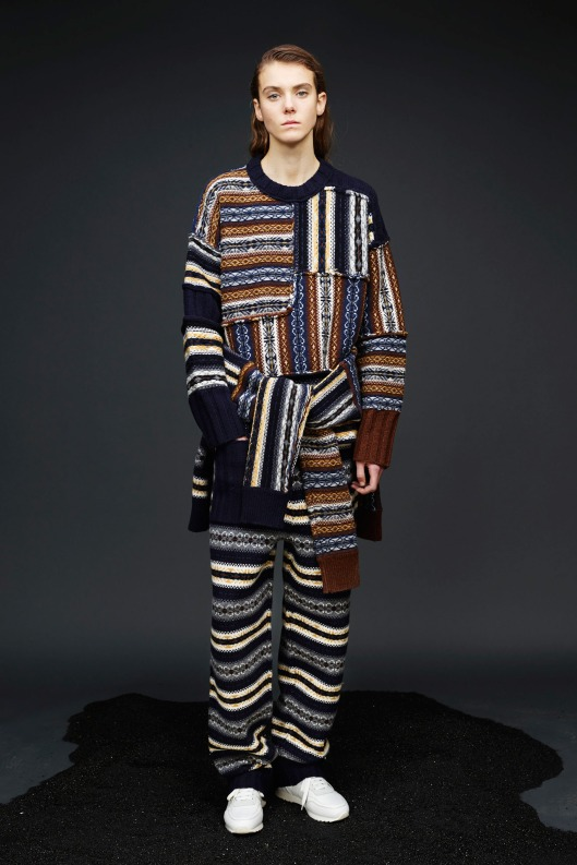 prefall 2015, patterned knitwear, from joseph