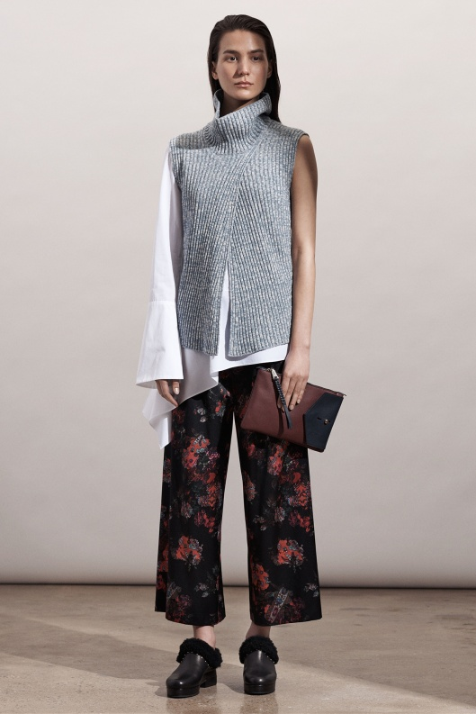 prefall 2015, Thakoon, layered, sleeved/sleeveless