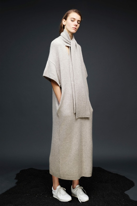 prefall 2015, smock, dress, knit, josephit