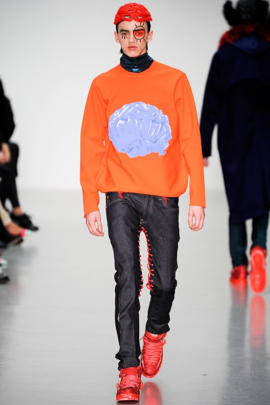 prefall 2015, men, katie eary, anatomics, brain, sweatshirt