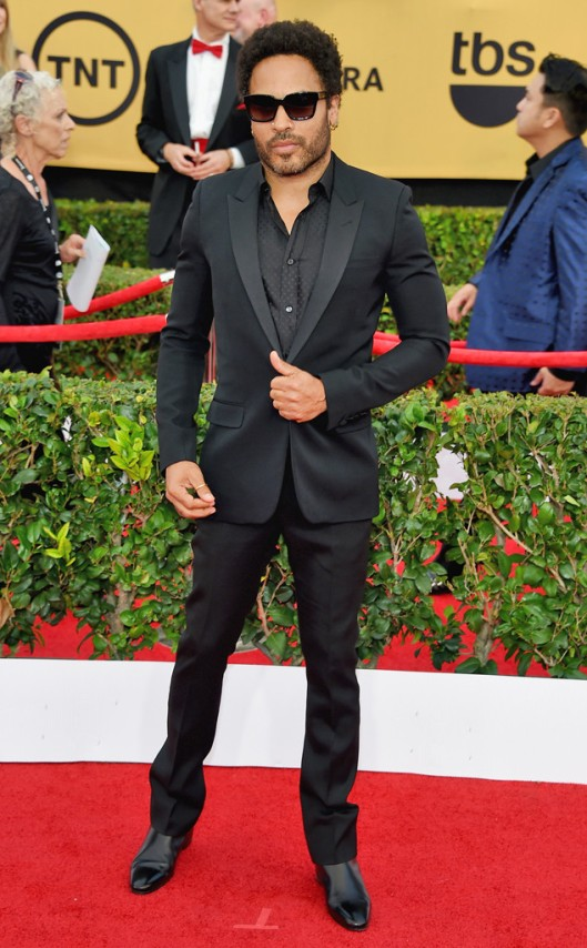 SAG Awards 2015 Lenny Kravitz in saint laurent, eonline rs_634x1024-150125173616-634.lenny-kravitz-SAG-Awards-0115