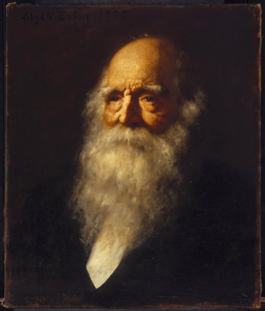 william cullen bryant, poet,  portrait,