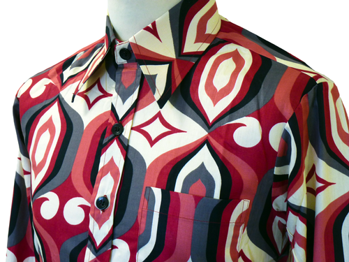 mens psychedelic shirt