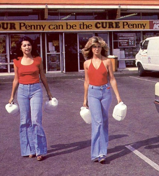 70s fashion, skinny jeans, ladies, flashbak.com vintage-slacks-10
