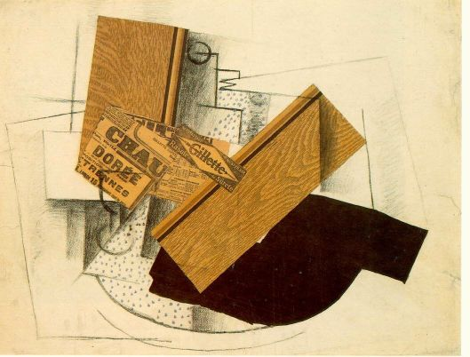 braque, still life on a table, 1914