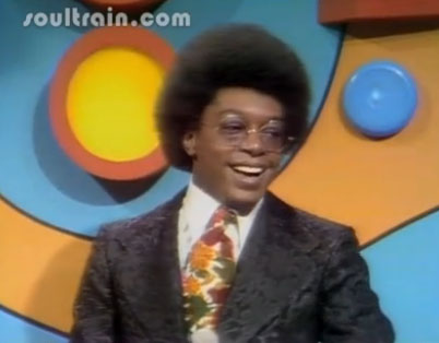 don cornelius, brown, brocade