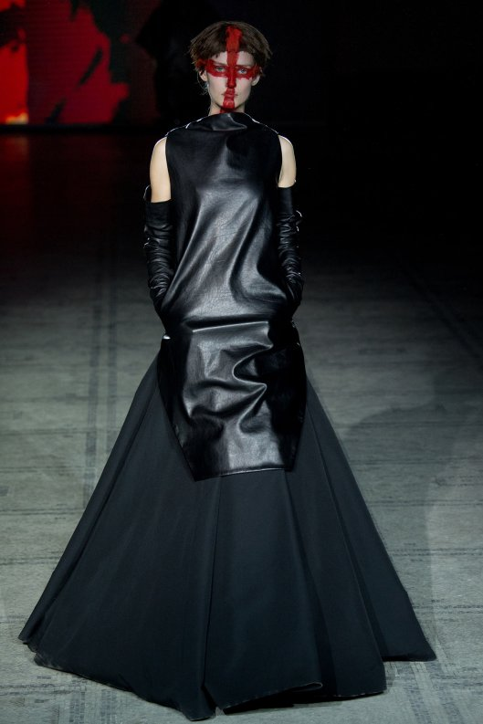 LFW, a15, Gareth Pugh, the dark side