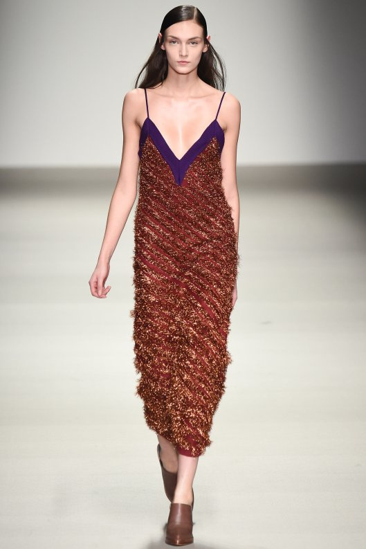LFW, lucas nasceimento, spaghetti strap knit dress
