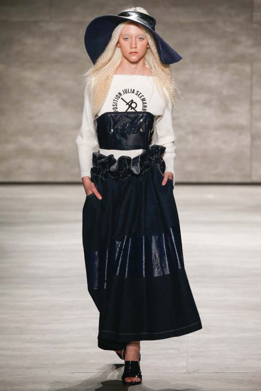 a15, julia seemann, denim, skirt, circle