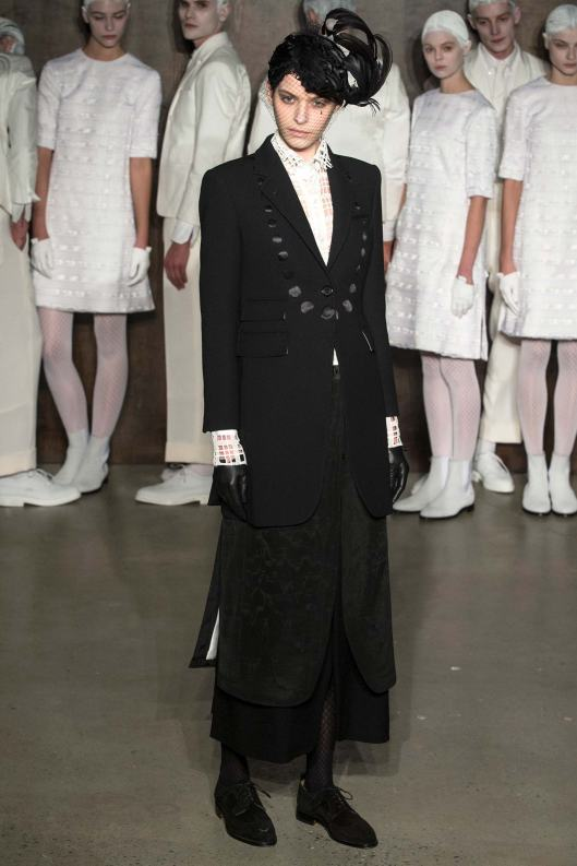 nyfw, a15, thom browne, edwardian point of view
