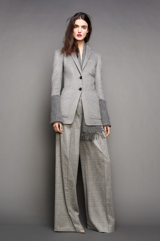 NYFW, a15, grey matters,j-crew jacket with wool sleeves, wide trousers-016-1366