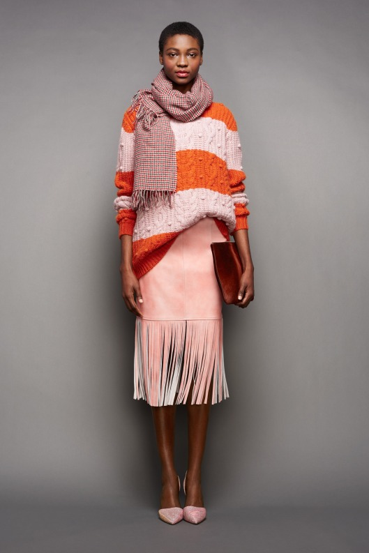 NYFW, a15, j-crew, fringe leather skirt, jumper-012-1366