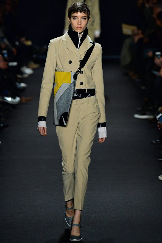 nyfw, a15, rag and bone, trouser suit, cropped jacket, slim fit trousers