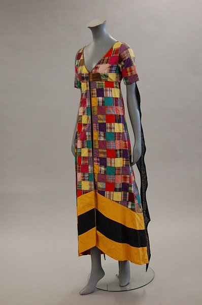 thea porter, patchwork tunic
