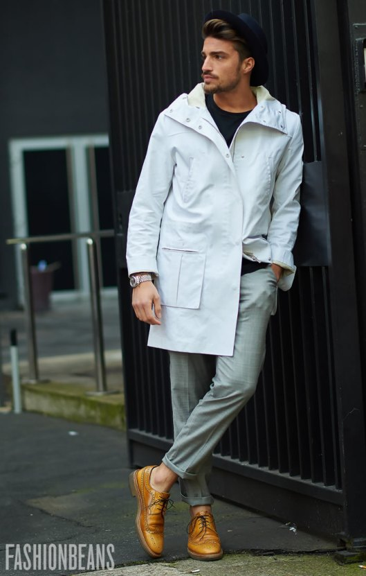 winter whites, men, overcoat, photo from Yu Yuang